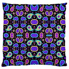 Colorful 5 Standard Flano Cushion Case (one Side)