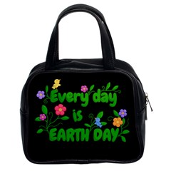 Earth Day Classic Handbags (2 Sides)