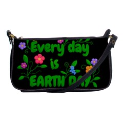 Earth Day Shoulder Clutch Bags