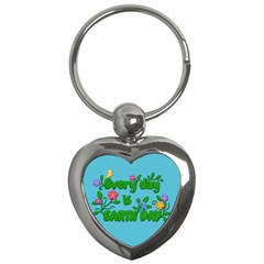 Earth Day Key Chains (heart)