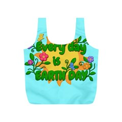 Earth Day Full Print Recycle Bags (s)
