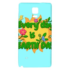 Earth Day Galaxy Note 4 Back Case