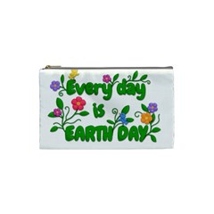Earth Day Cosmetic Bag (small)