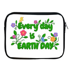 Earth Day Apple Ipad 2/3/4 Zipper Cases
