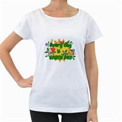 Earth Day Women s Loose Fit T Shirt (white)