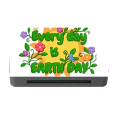 Earth Day Memory Card Reader With Cf