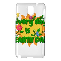 Earth Day Samsung Galaxy Note 3 N9005 Hardshell Case