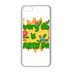 Earth Day Apple Iphone 5c Seamless Case (white)