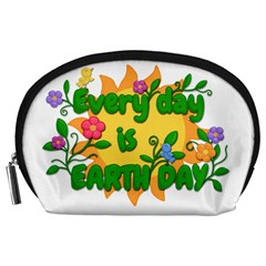 Earth Day Accessory Pouches (large)