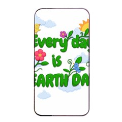 Earth Day Apple Iphone 4/4s Seamless Case (black)