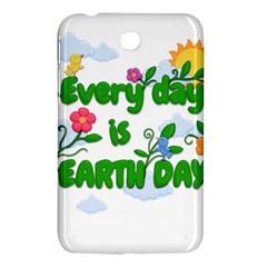 Earth Day Samsung Galaxy Tab 3 (7 ) P3200 Hardshell Case