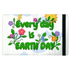 Earth Day Apple Ipad Pro 12 9   Flip Case