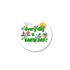 Earth Day Golf Ball Marker