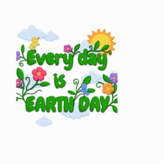 Earth Day Large Garden Flag (two Sides)