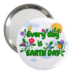 Earth Day 3  Handbag Mirrors