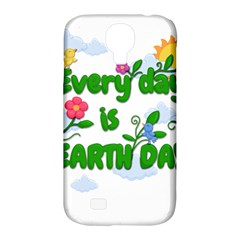 Earth Day Samsung Galaxy S4 Classic Hardshell Case (pc+silicone)