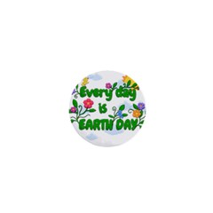 Earth Day 1  Mini Buttons