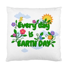 Earth Day Standard Cushion Case (two Sides)