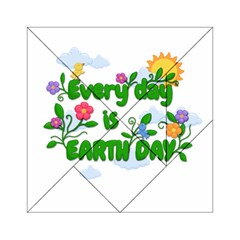 Earth Day Acrylic Tangram Puzzle (6  X 6 )