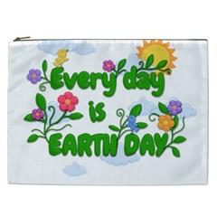 Earth Day Cosmetic Bag (xxl)