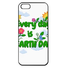 Earth Day Apple Iphone 5 Seamless Case (black)