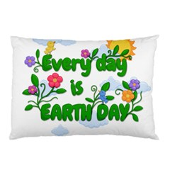 Earth Day Pillow Case (two Sides)