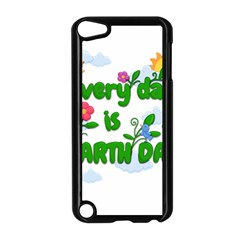 Earth Day Apple Ipod Touch 5 Case (black)