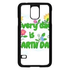 Earth Day Samsung Galaxy S5 Case (black)
