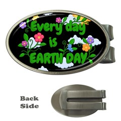 Earth Day Money Clips (oval)