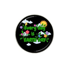Earth Day Hat Clip Ball Marker