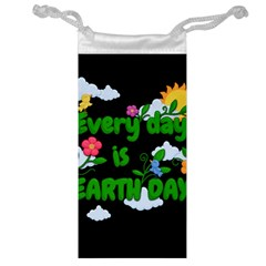 Earth Day Jewelry Bag