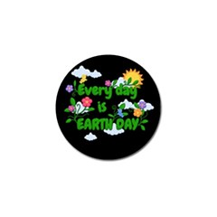 Earth Day Golf Ball Marker (4 Pack)