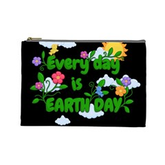 Earth Day Cosmetic Bag (large)