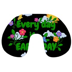 Earth Day Travel Neck Pillows