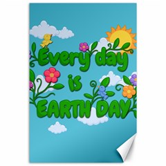 Earth Day Canvas 24  X 36