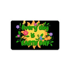 Earth Day Magnet (name Card)