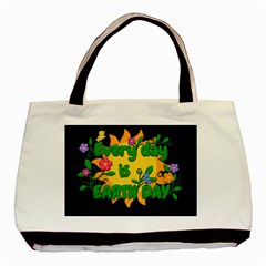 Earth Day Basic Tote Bag (two Sides)