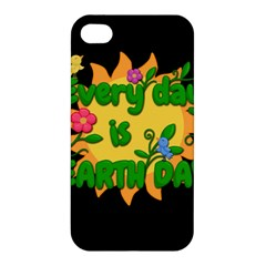 Earth Day Apple Iphone 4/4s Hardshell Case