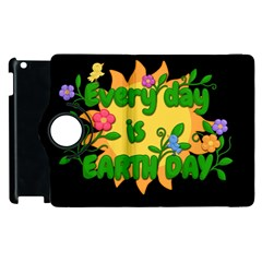Earth Day Apple Ipad 3/4 Flip 360 Case