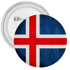 Iceland Flag 3  Buttons
