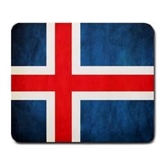 Iceland Flag Large Mousepads