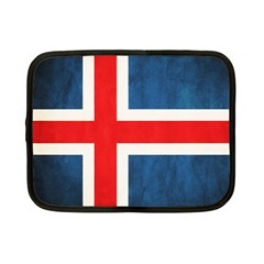 Iceland Flag Netbook Case (small)