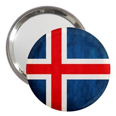 Iceland Flag 3  Handbag Mirrors