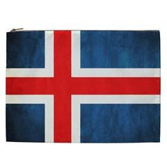 Iceland Flag Cosmetic Bag (xxl)