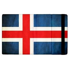 Iceland Flag Apple Ipad 3/4 Flip Case