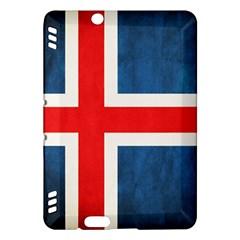 Iceland Flag Kindle Fire Hdx Hardshell Case