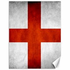 England Flag Canvas 18  X 24