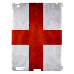England Flag Apple Ipad 3/4 Hardshell Case (compatible With Smart Cover)