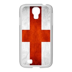 England Flag Samsung Galaxy S4 I9500/ I9505 Case (white)