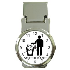 Save The Planet   Religions  Money Clip Watches